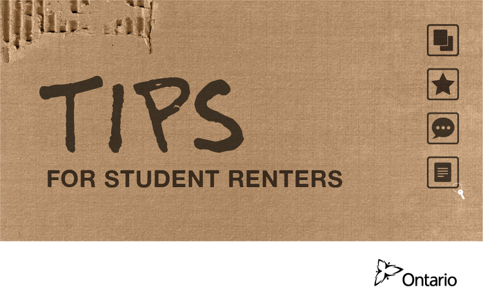 Ontario Reminding Student Renters About Their Rights and Responsibilities
