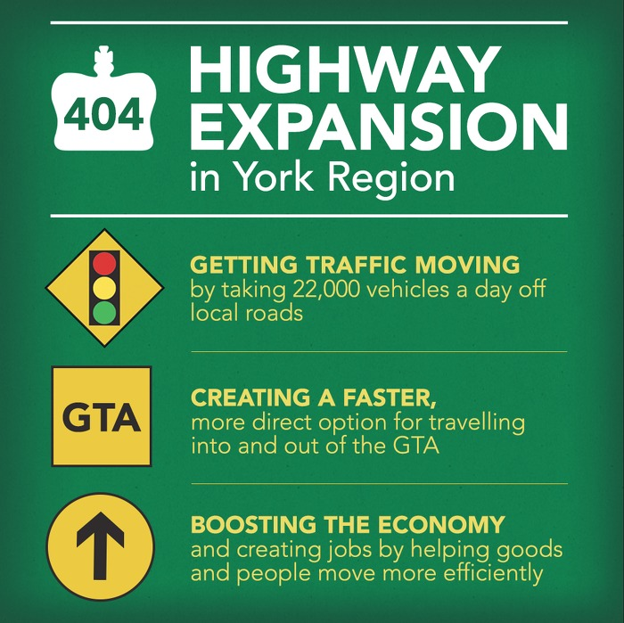 Highway 404 Extension Set to Open