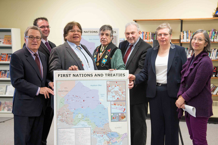 Ontario is sending a First Nations and Treaties map to every elementary and high school in the province as a first step towards raising awareness about treaties.