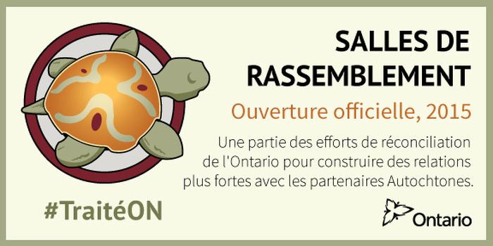 Les « salles de rassemblement » de l'Ontario, une première dans la province