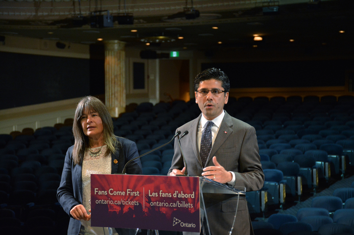 Yasir Naqvi - Attorney General and Sophie Kiwala, MPP - Kingston and the Islands