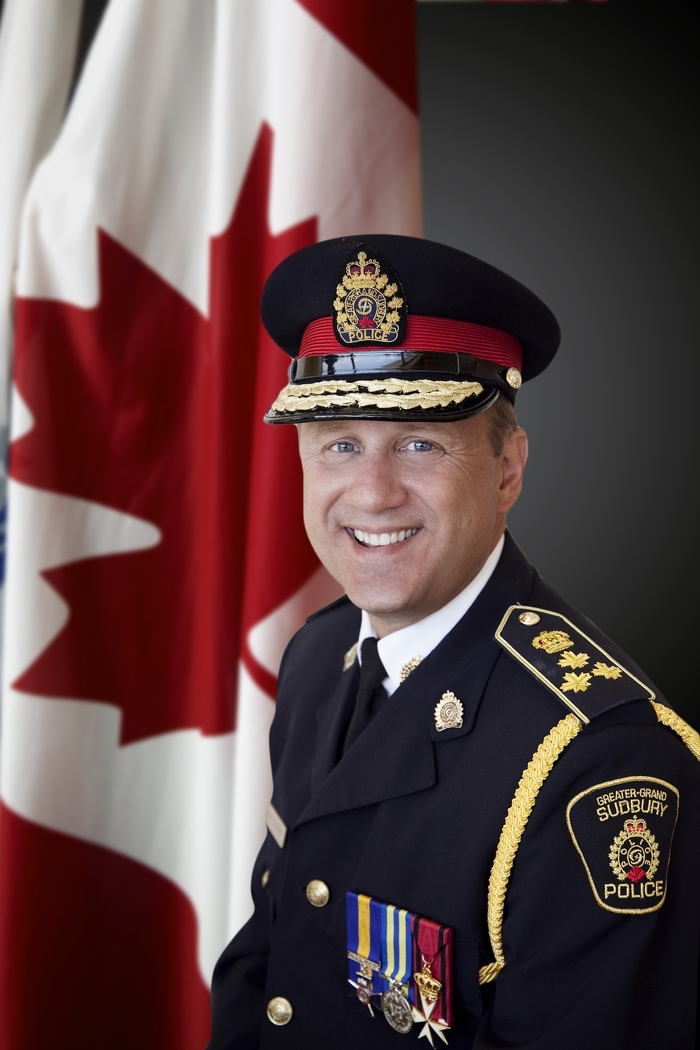 Chef Frank Elsner, service de police du grand Sudbury