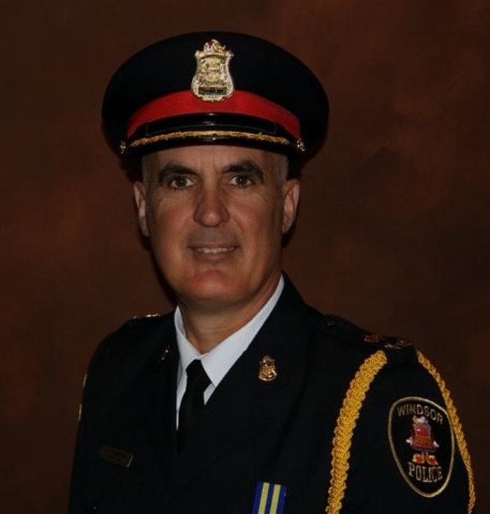 Chef Albert Frederick, service de police de Windsor