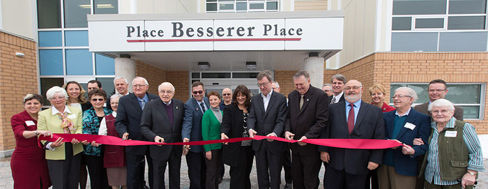 Ribbon-Cutting ceremony for new affordable housing in Ottawa
