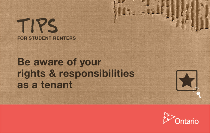 Be aware of your rights and responsibilities as a tenant