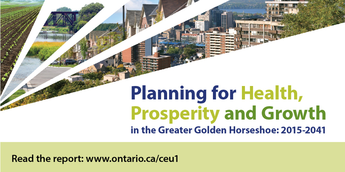 Ontario Welcomes Report on Greenbelt and Smart Growth