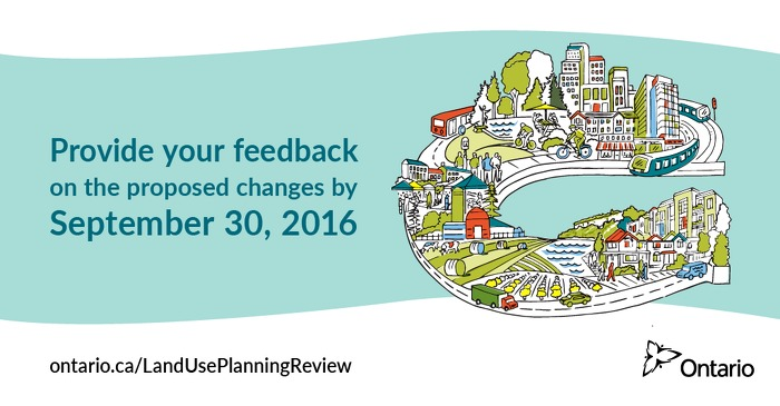 Share your views about Ontario's proposed changes to land use plans