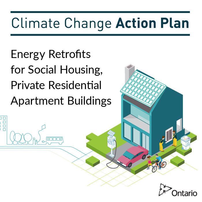Ontario Investing up to $900M in Energy Retrofits for Social Housing, Private Residential Apartment Buildings