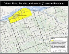 Ottawa River Flood Activation Area (Clarence-Rockland)
