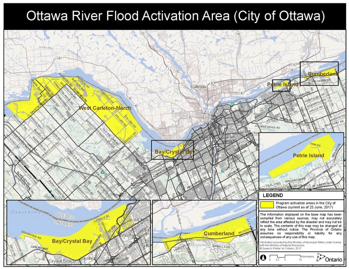 Updated: Province Activates Disaster Recovery Assistance for Ontarians in Ottawa area