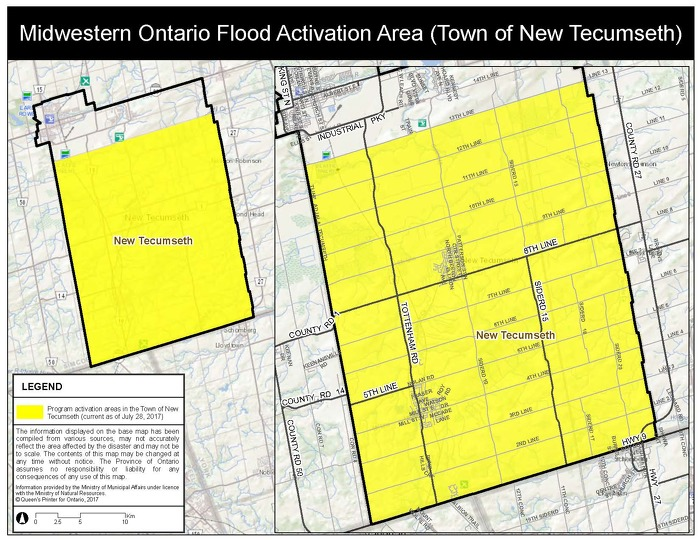 Province Activates Disaster Recovery Assistance for Ontarians in Midwestern Ontario