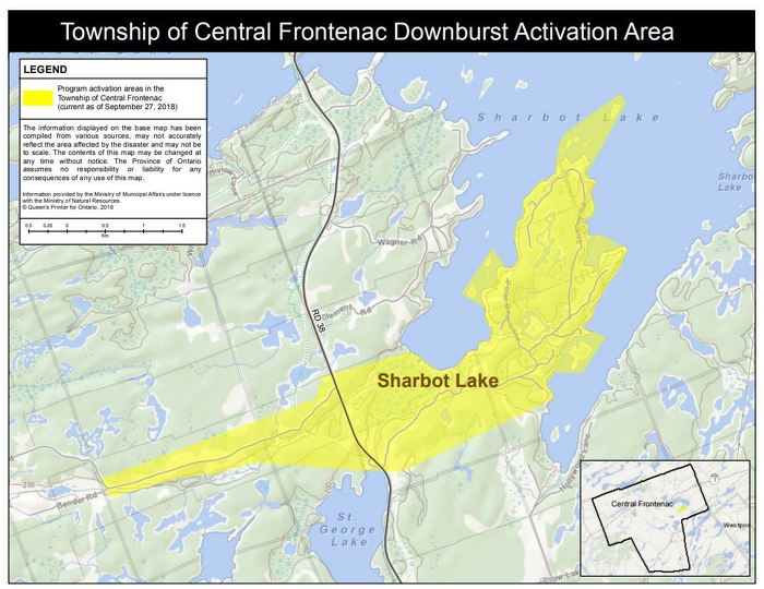 Province Activates Disaster Recovery Assistance for Ontarians in the Township of Central Frontenac