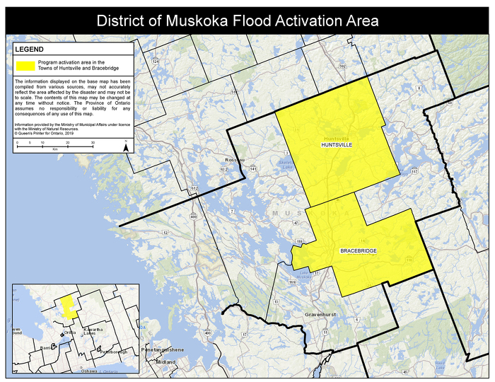 Ontario Government Activates Disaster Recovery Assistance to Support Residents in Bracebridge and Huntsville