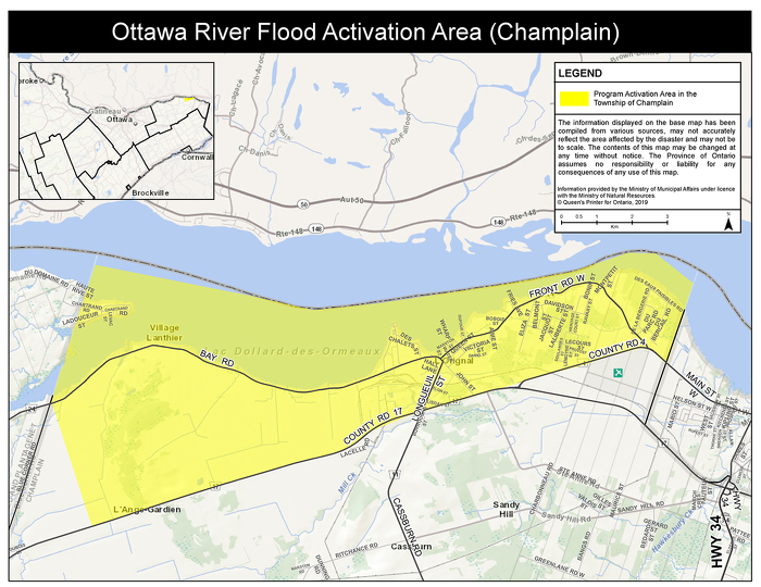Champlain Flood Activation Area