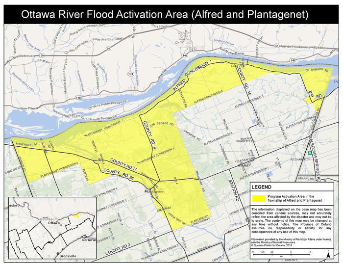 Alfred and Plantagenet Flood Activation Area