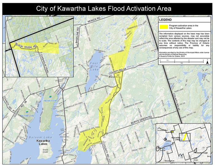 Kawartha Lakes Flood Activation Area