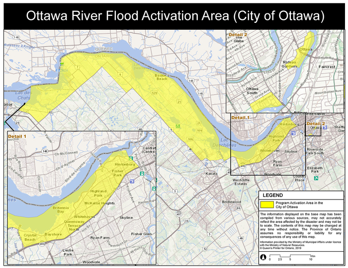 Ottawa Flood Activation Area West