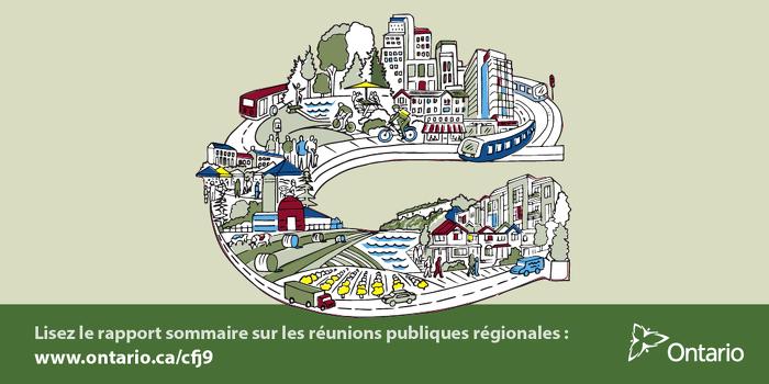Lisez le rapport sommaire sur les réunions publiques régionales