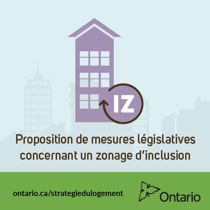 L'Ontario dépose un projet de loi pour encourager la construction de nouveaux logements abordables
