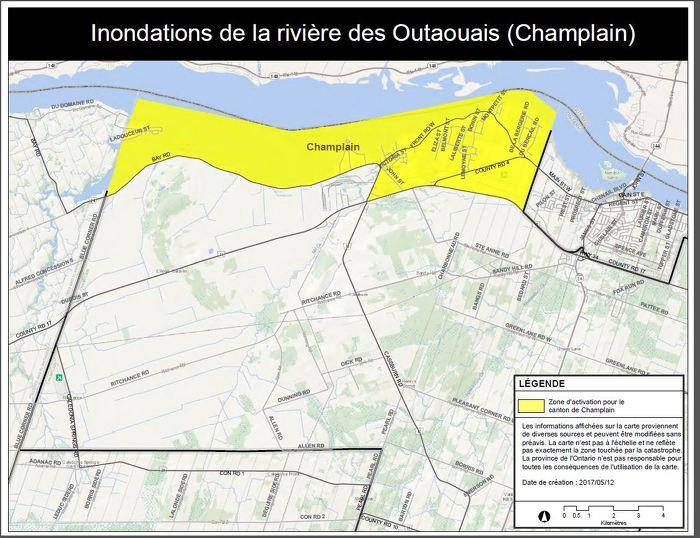 La Province déclenche l'Aide aux sinistrés pour la reprise après une catastrophe dans la région d'Ottawa