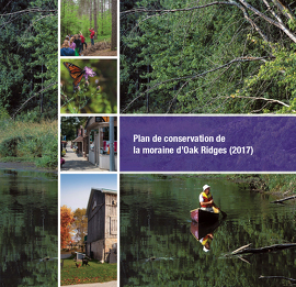 Plan de conservation de la moraine d'Oak Ridges
