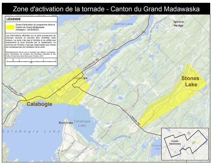 La province active l'Aide aux sinistrés pour la reprise après une catastrophe dans le canton de Greater Madawaska