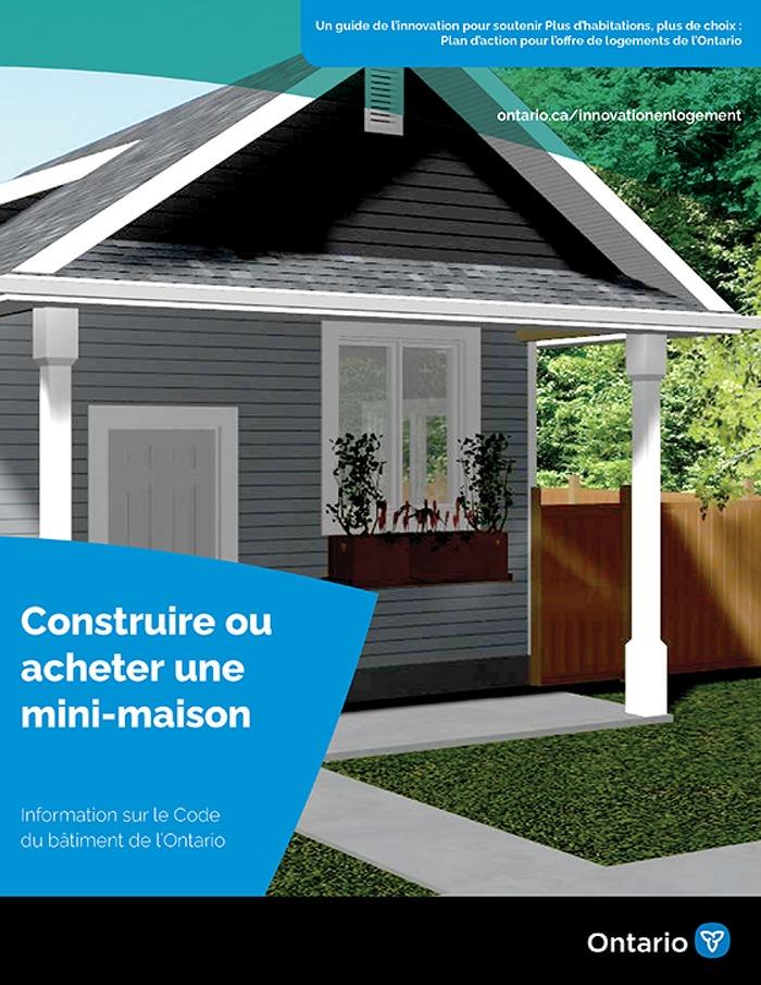 Construire ou acheter un mini-maison