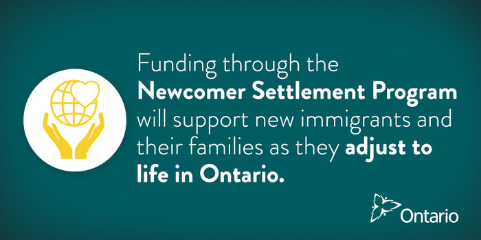 Ontario Supporting Newcomer Success