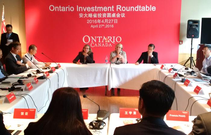L'Ontario conclut de nouvelles ententes à Beijing
