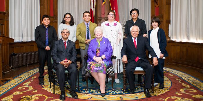 L'Ontario rend hommage à des jeunes Autochtones pour leur créativité