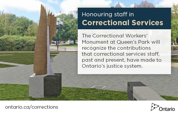 Ontario Honours Correctional Workers