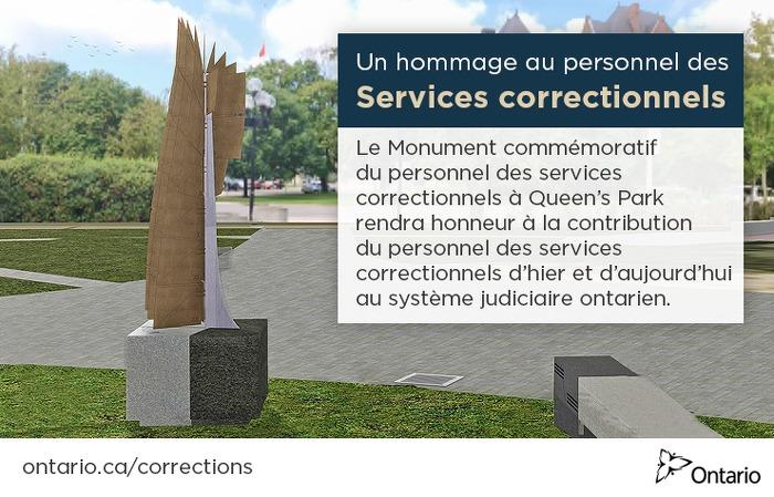 L'Ontario honore les membres du personnel des services correctionnels