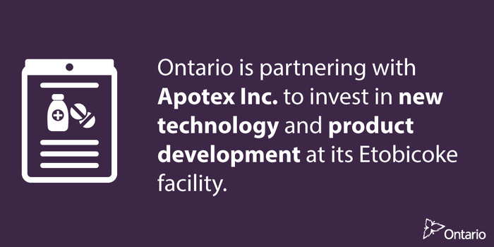 Ontario Supports Life Sciences Innovation in Toronto