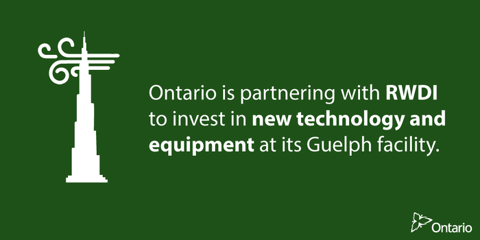 Ontario Supporting Eco-Friendly Innovation in Guelph