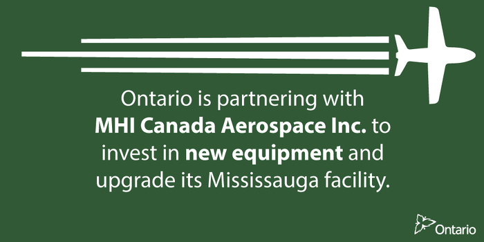 Ontario Promoting Aerospace Innovation in Mississauga