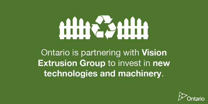 Ontario Supporting Over 575 Manufacturing Jobs in Vaughan
