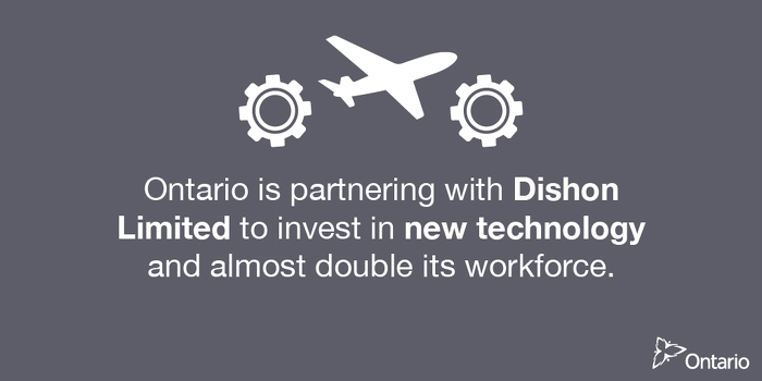 Ontario Supporting Over 100 Advanced Manufacturing Jobs in Vaughan