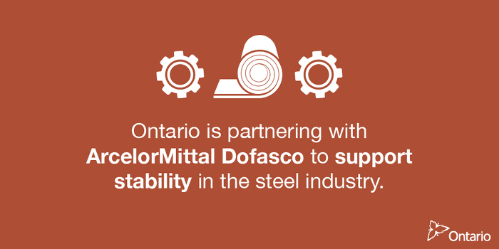 Ontario Supporting 4,700 Jobs in Hamilton's Steel Industry