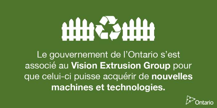 L'Ontario soutient plus de 575 emplois manufacturiers à Vaughan