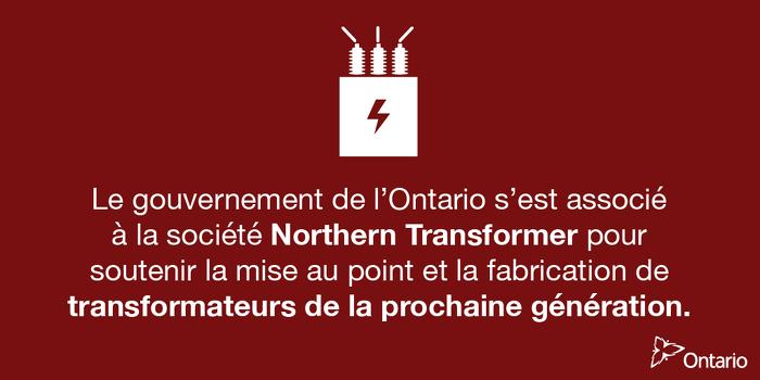 L'Ontario soutient la fabrication de pointe à Vaughan