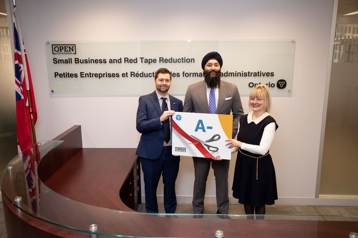L'Ontario obtient une note de A- pour avoir fait fonctionner la province de façon plus intelligente pour les entreprises