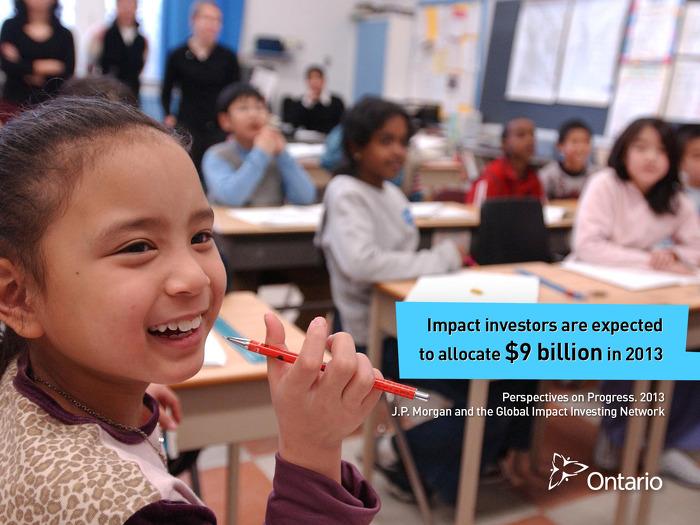 Impact investors are expected to allocate $9 billion in 2013.