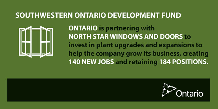 Newsroom ontario partnering with north star windows and for North windows and doors