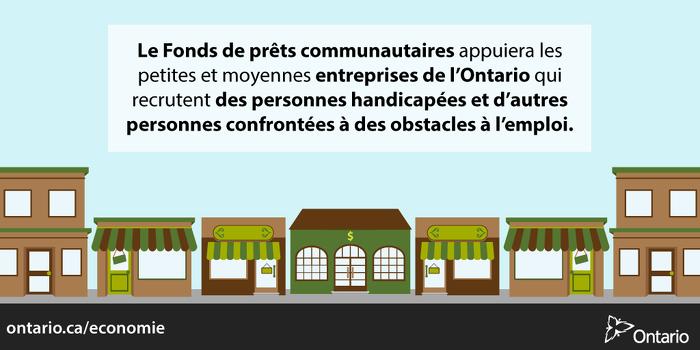 L'Ontario améliore les perspectives d'emploi des personnes se heurtant à des obstacles