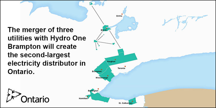 Ontario Moving Forward With Hydro One Brampton Merger