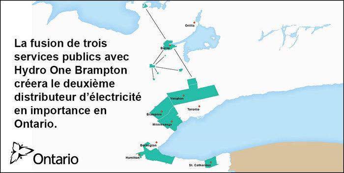 L'Ontario procède à la fusion d'Hydro One Brampton