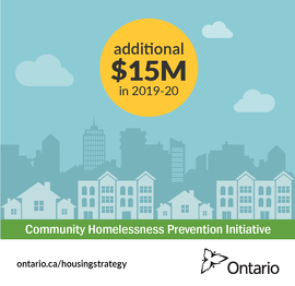 Ontario Investing in Municipalities to Help Families Stay in their Homes
