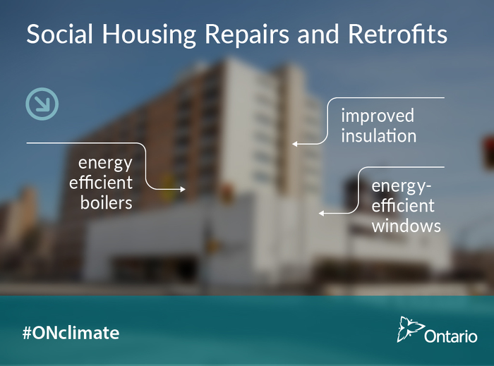 Ontario Making Major Investments in Social Housing Repairs and Retrofits