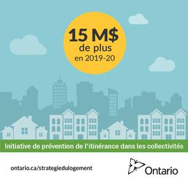 L'Ontario investit dans les municipalités pour aider les familles à rester dans leur logement