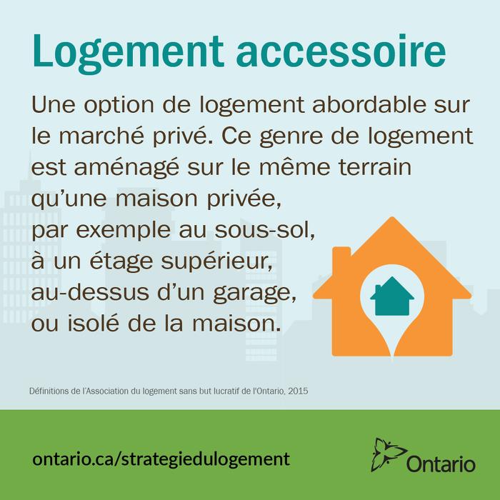 Faire en sorte que les logements annexes situés dans de nouvelles maisons, soient moins chers à construire, en les exonérant des redevances d'aménagement.